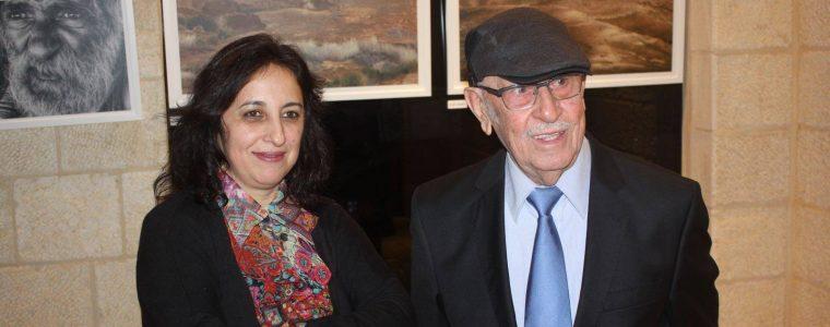 """Bethlehem Museum opened artist Fadwa Rohana's exhibit, """"Walking the Edge of Nostalgia."""""""
