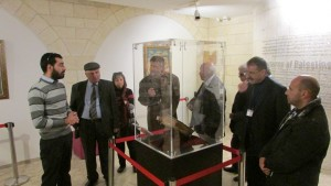 The Creative Cultural Forum Visits the Bethlehem Museum